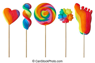다채로운, 사탕 과자