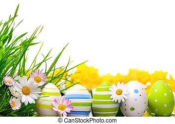 달걀, 부활절, 배열