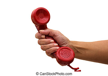 대답하는 것, 전화