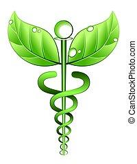대안, 상징, 의학