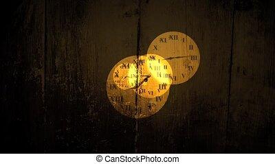 더러운, 시계, 얼굴