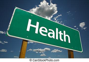 도로 표지, 건강