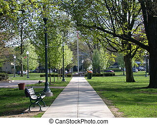 도시 공원, 통로