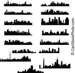 도시, 지평선