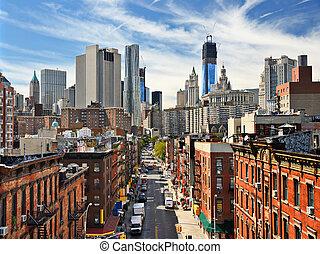도시 풍경, 더 낮은 맨해튼