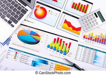 도표, 테이블., 그래프, 사업