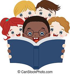 독서, 책, 아이들