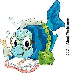 독서, fish
