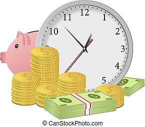 돈, 개념, 시간