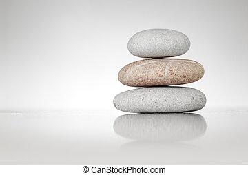돌, 백색, 선