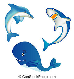 동물, 바다
