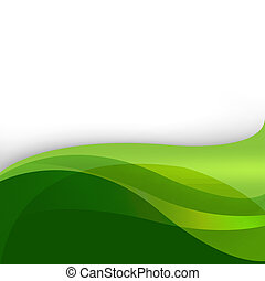 떼어내다, 녹색의 배경, 자연
