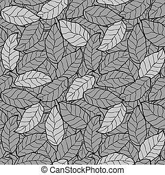 떼어내다, 잎, seamless, 배경, 잎