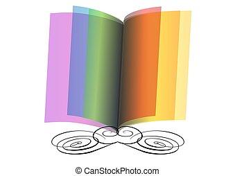 떼어내다, 책, 열려라