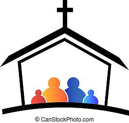 로고, 교회, 가족, 신뢰