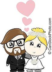 만화, 결혼식