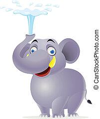 만화, 코끼리