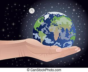 매우의, 우리, 지구