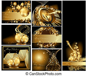 메리 크리스마스, 금, 배경