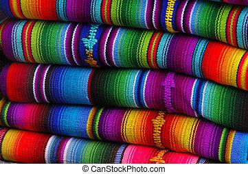 멕시코 인, 담요