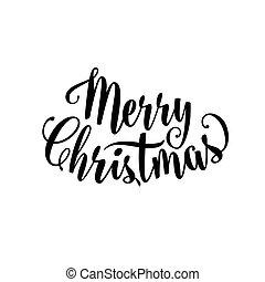 명랑한, 벡터, 원본, 표시, 크리스마스, 삽화, 자체