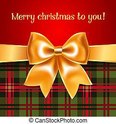 명랑한, -, 크리스마스, 배경