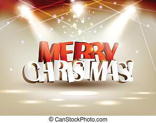명랑한, 크리스마스.