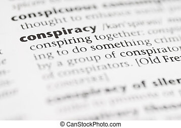 모듬 명령, 사전, conspiracy., word: