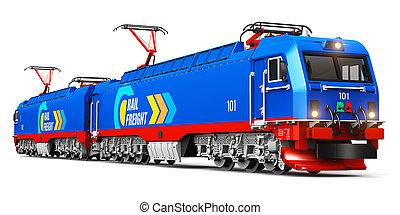 무거운, 현대, 전기, 화물, 기관차