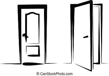 문, 아이콘