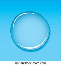 물방울, 파랑