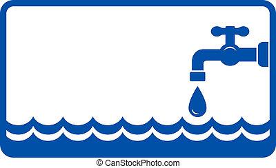 물 가볍게 치는 소리, 배경, 파도