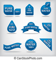 물, 상표, 학문 따위 순수한