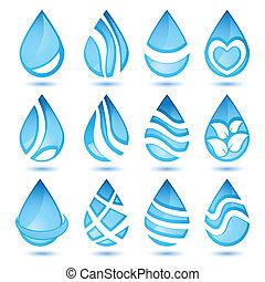 물, 세트, 상징