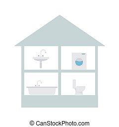 물, 집, 심상, 사용자, 비공개의