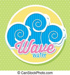 물, 파도