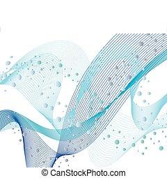 물, 패턴, 세트