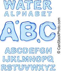 물, alphabet.