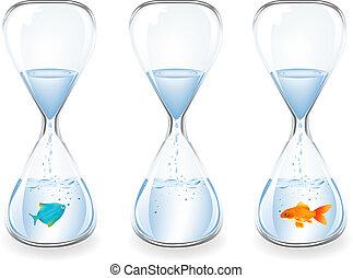 물, clocks