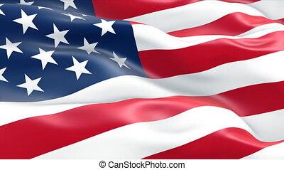 미국 기, 미국
