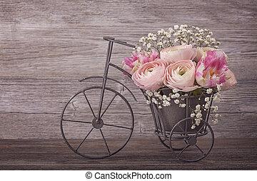 미나리아재비속, 꽃