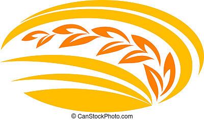 밀, 상징, 곡물