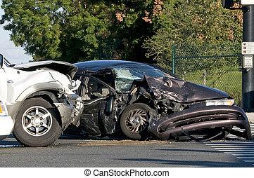 바쁜, 교회법, 사고, 2, 차량