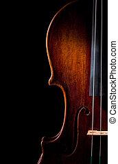 바이올린, 증서, 예술, 끈, 음악