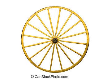 바퀴, 왜건, 가볍게 침