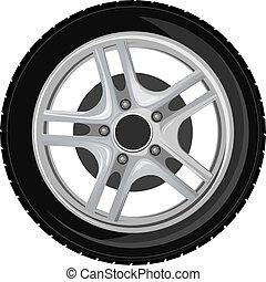 바퀴, 타이어