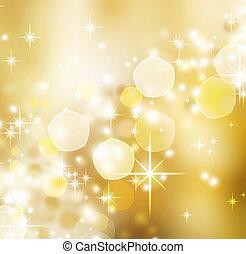배경., 떼어내다, 휴일, 크리스마스, bokeh
