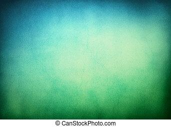 배경, 청록색