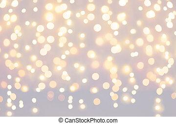 배경, 크리스마스 불빛, 휴일