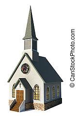 백색, 교회